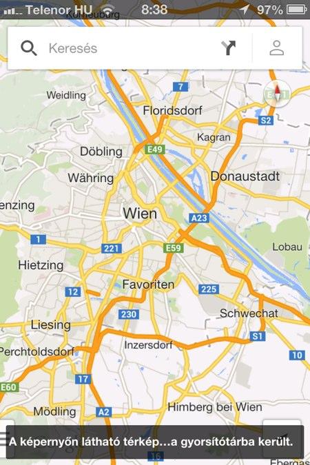 Google Maps Tipp Offline Terkep
