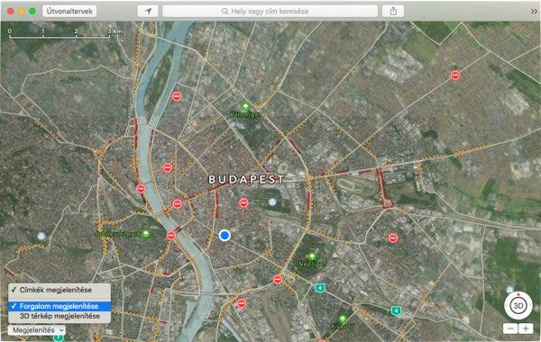Forgalmi Adatokkal Bovult Magyarorszagon Az Apple Maps